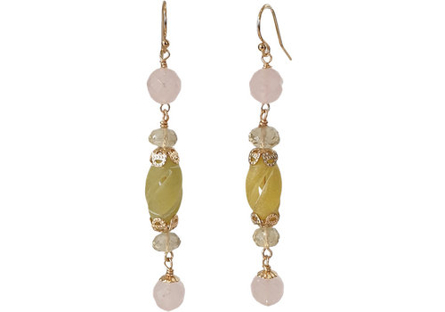 CLASSIC COLLECTION Light Green Earring