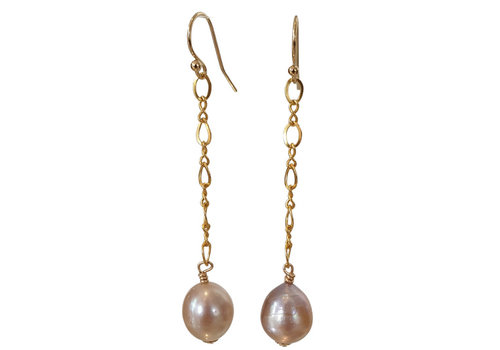 CLASSIC COLLECTION Gold, Nude Earrings