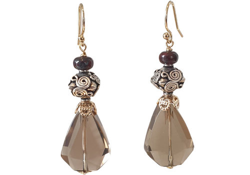 CLASSIC COLLECTION Gold, Gruine Earring