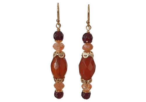 CLASSIC COLLECTION Black, Brown Earring