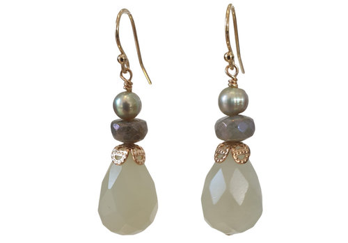 CLASSIC COLLECTION Green Earring