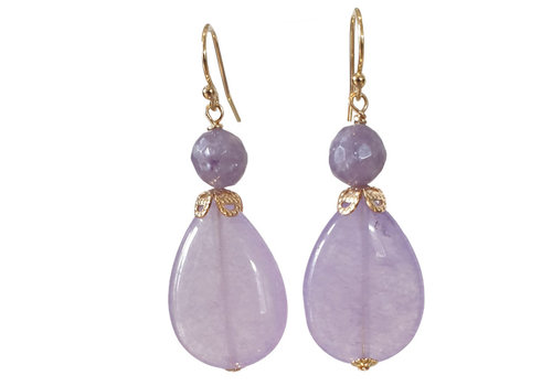 CLASSIC COLLECTION Purple Earring