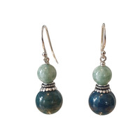 Earrings with Jade and Apetite