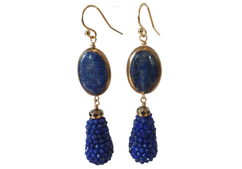 CLASSIC COLLECTION Blue Earring