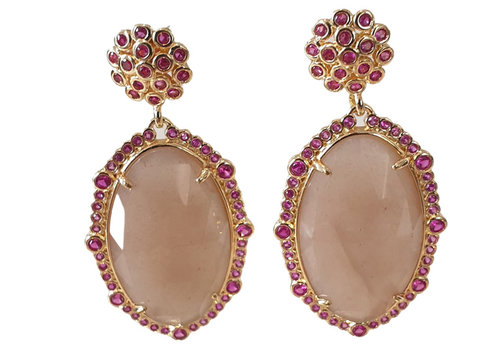 TREND COLLECTION Gold, Pink, Nude Earring