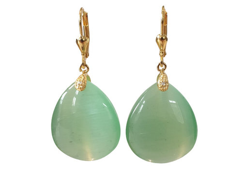 TREND COLLECTION Green Earring