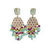 CLASSIC COLLECTION Earrings with various gemstones