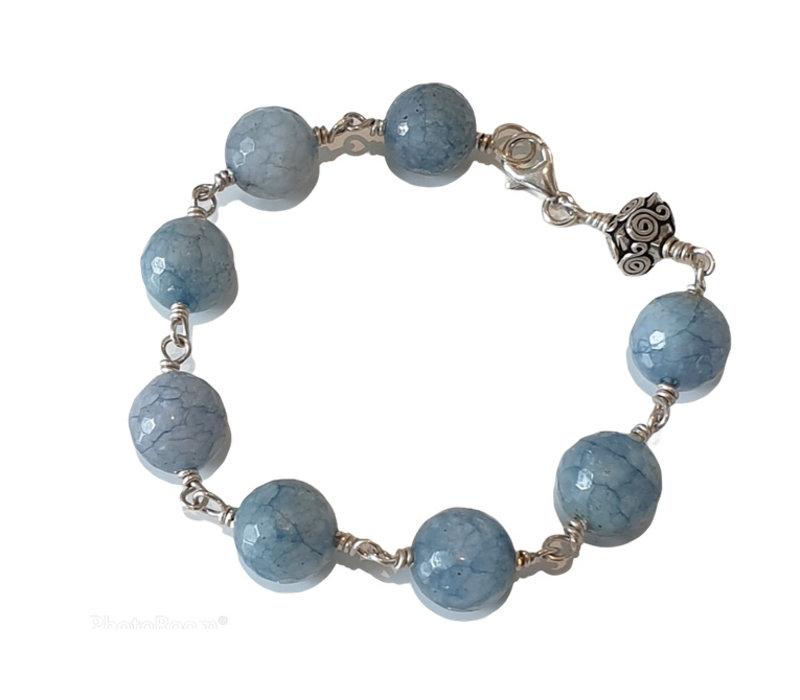Bracelet with Larimar
