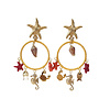 CLASSIC COLLECTION Earrings with various charms