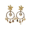 CLASSIC COLLECTION Earrings with Rope and Bras