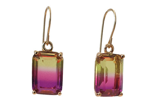 TREND COLLECTION Yellow, Pink Earring