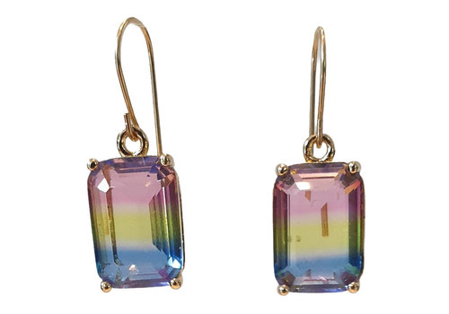 TREND COLLECTION Yellow, Pink, Blue earring