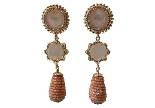 CLASSIC COLLECTION Nude Pink Earring