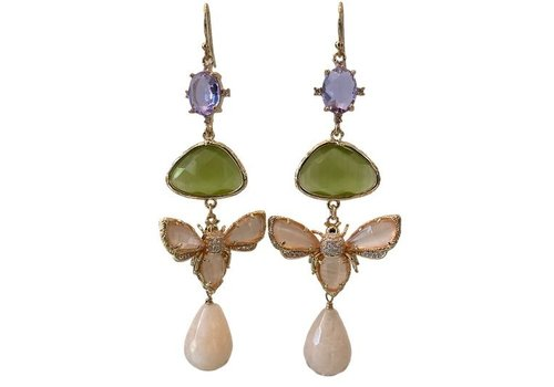 CLASSIC COLLECTION Grey, Purple, Nude Earrings - Copy
