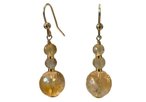 EXCLUSIVE COLLECTION yellow earring