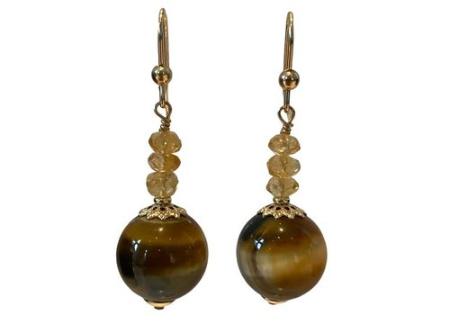 EXCLUSIVE COLLECTION Brown Earring