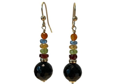 EXCLUSIVE COLLECTION colored earring