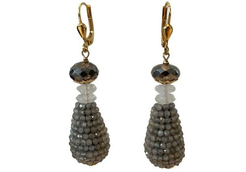 EXCLUSIVE COLLECTION Gray earring