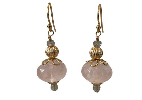 EXCLUSIVE COLLECTION Grey, Pink Earring