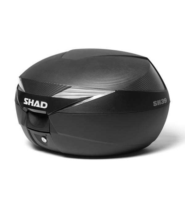 Shad Scooter topkoffer 39L zwart Shad inclusief bevestigingsset