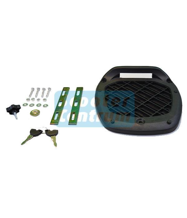 DMP Scooter topkoffer 28L DMP inclusief bevestigingsset
