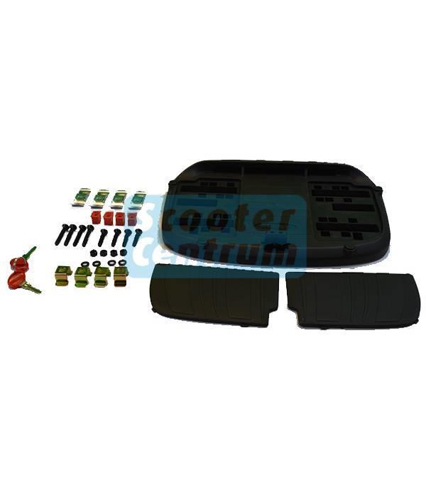 Shad Scooter topkoffer 45L zwart Shad inclusief bevestigingsset