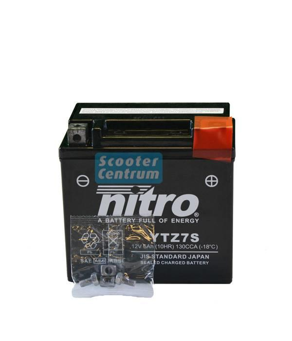 Nitro Accu YTZ7S GEL