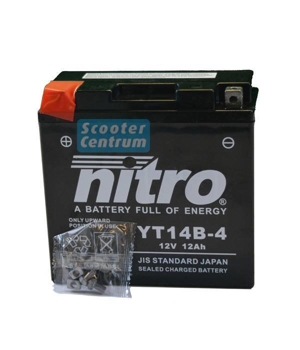 Nitro Accu yt14b-4 gel