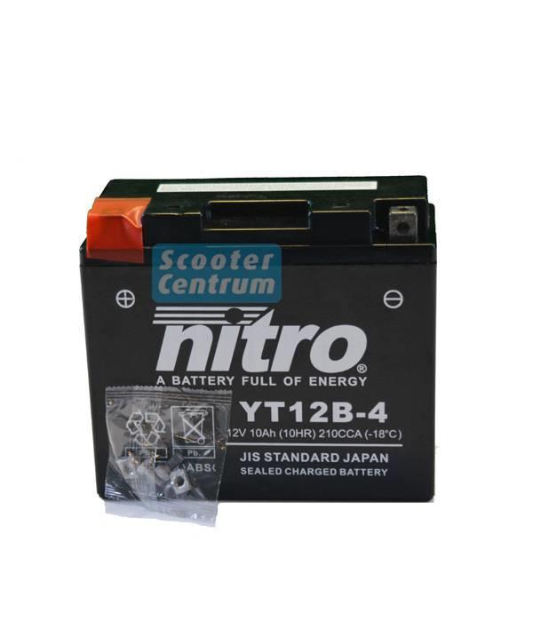 Nitro Accu YT12B-4 GEL