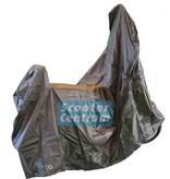 Tucano Urbano Berini Dolce Vita 50 4T Beschermhoes met windscherm ruimte van Tucano