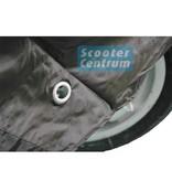 Tucano Urbano AGM Retro Black Edition 50 Scooterhoes met windscherm ruimte van Tucano