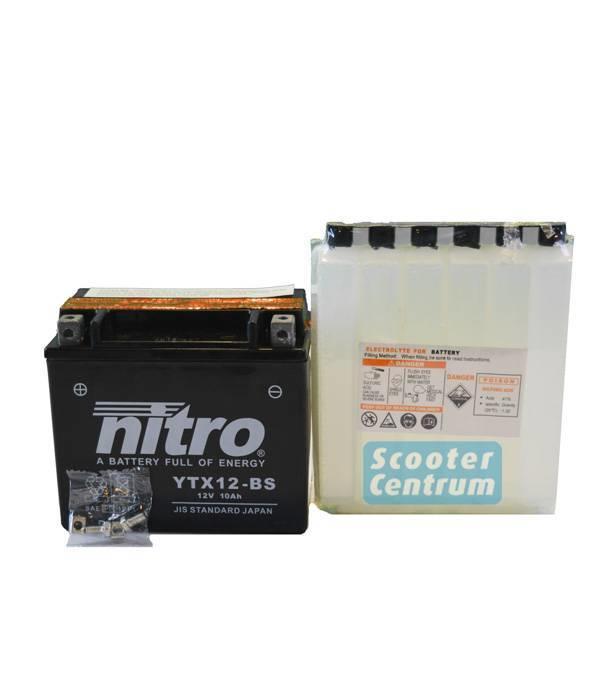 Nitro Aprilia 200 Sport City Motorscooter Accu van nitro