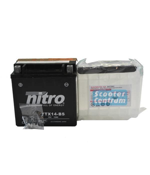 Nitro Aprilia NA 850 Mana GT Motor Accu van nitro