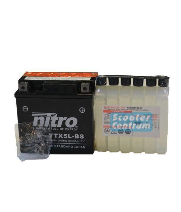 Nitro Kymco Vitality 50 4T Accu van nitro