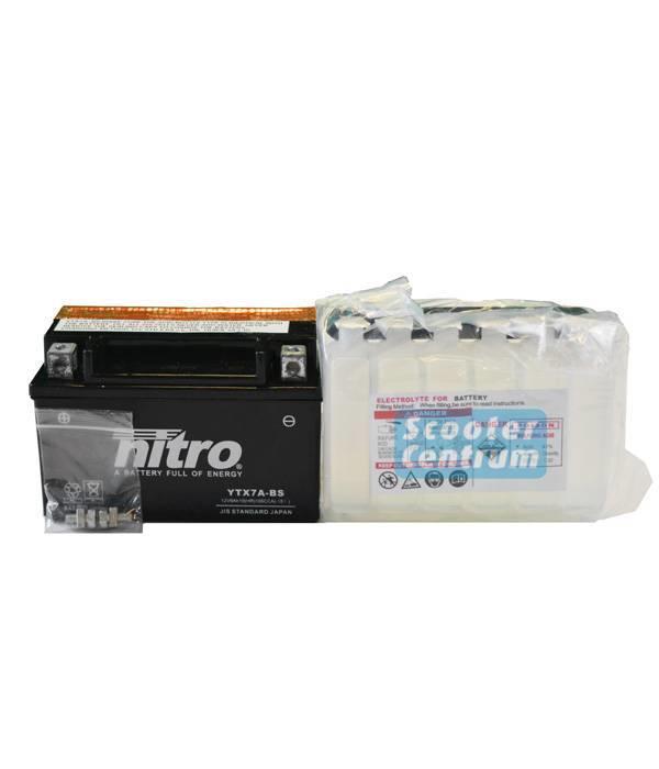 Nitro AGM New Flash 50 4T Accu van nitro