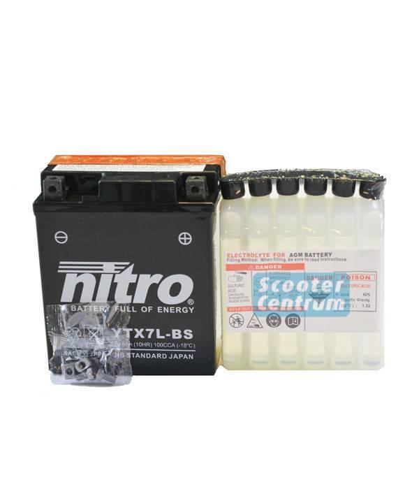 Nitro Honda PES 150R PS150 Motorscooter accu van nitro