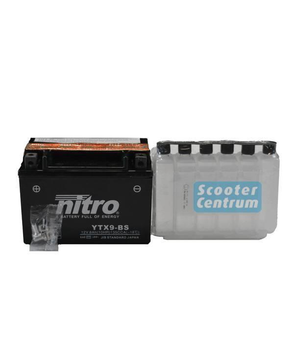 Nitro Honda FMX 650 Motor accu van nitro
