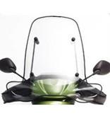Peugeot Peugeot Vivacity 2 smoke Origineel Hoog Windscherm inclusief bevestigingsset