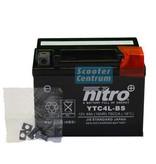 Nitro Kymco Vitality 50 2T accu van nitro