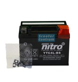 Nitro MBK Equalis 50 2T accu van nitro