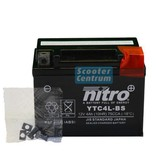 Nitro Piaggio Zip 50 2T accu van nitro