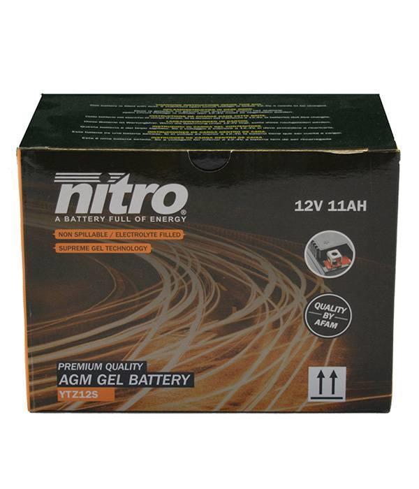 Nitro Accu YTZ12S GEL