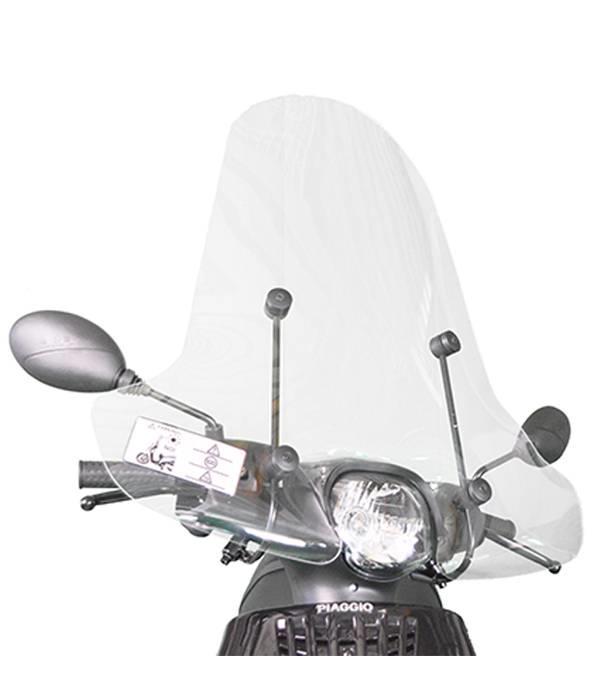 Scootercentrum Piaggio Zip Hoog Windscherm inclusief bevestigingsset van scootercentrum