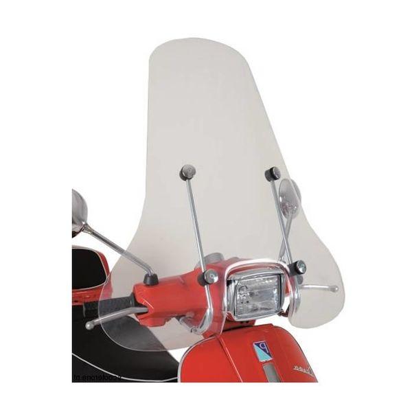 Vespa S Hoog Windscherm inclusief bevestigingsset van scootercentrum