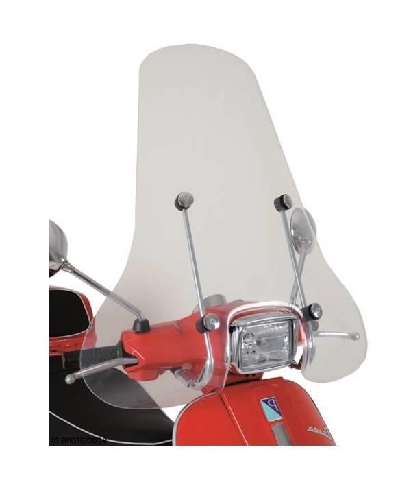 Scootercentrum Vespa S Hoog Windscherm inclusief bevestigingsset van scootercentrum