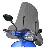 Scootercentrum Vespa Sprint Smoke Hoog Windscherm inclusief bevestigingsset van scootercentrum