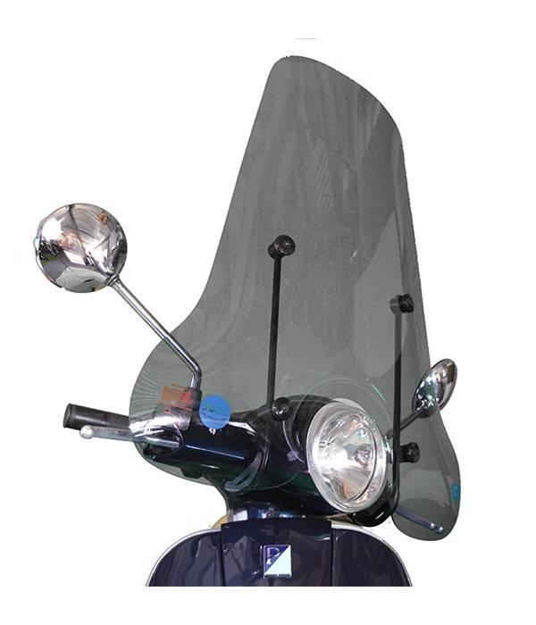 Scootercentrum Vespa LX Smoke Hoog Windscherm EU inclusief bevestigingsset van scootercentrum