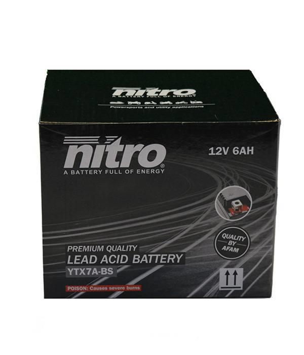 Nitro Peugeot Django 50 4T accu van nitro
