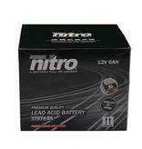 Nitro AGM Retro Pimpstyle 50 4T Accu van nitro