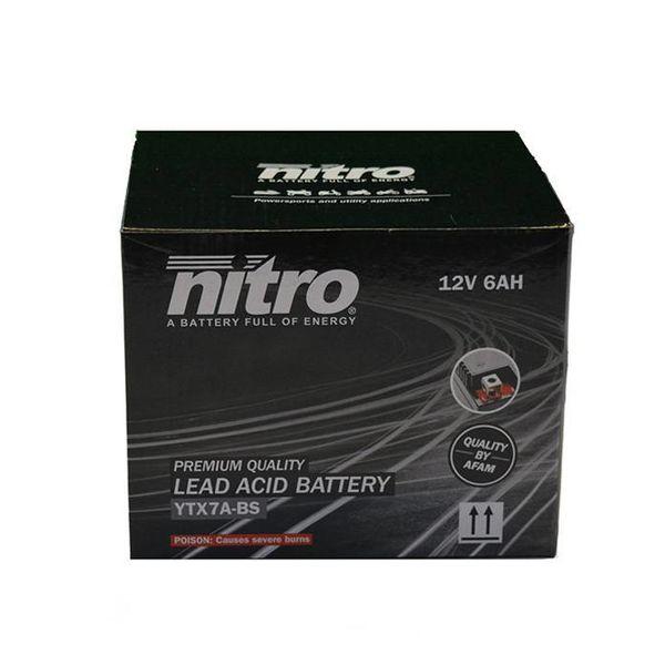 AGM Retro Pimpstyle Plus 50 4T Accu van nitro